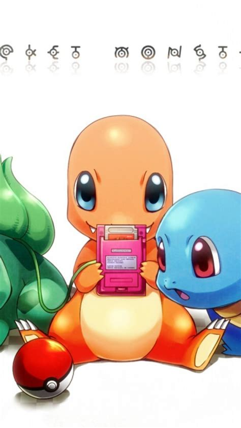 bulbasaur squirtle charmander wallpaper