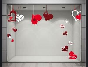 Vitrine Saint Valentin : decoration vitrine saint valentin ~ Louise-bijoux.com Idées de Décoration