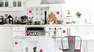 Deco cuisine style scandinave for Idee deco cuisine avec deco bureau scandinave