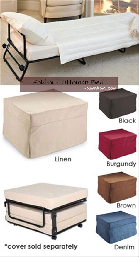 Fold Out Ottoman Bed by Simple Ideas That Are Borderline Genius 42 Pics