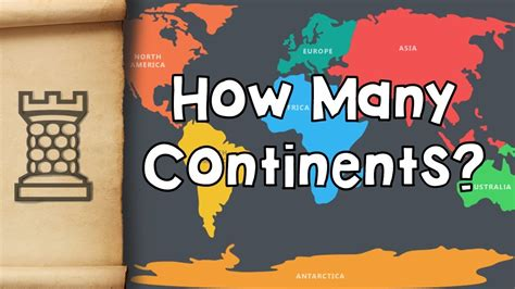 How Many Are In The World by How Many Continents Are There In The World