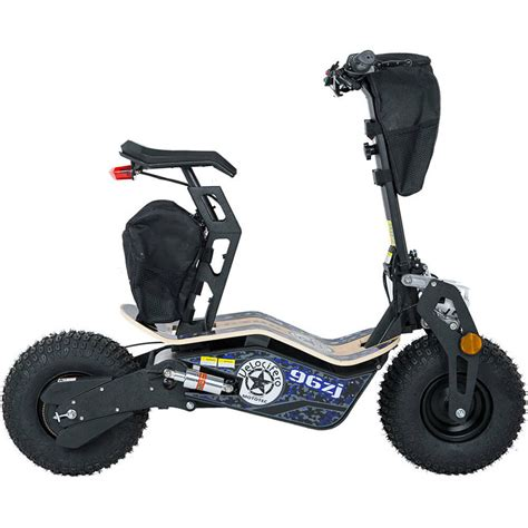 mototec mad electric scooter mt mad 1600 blue 1600w 48v blue black knobby tire ebay