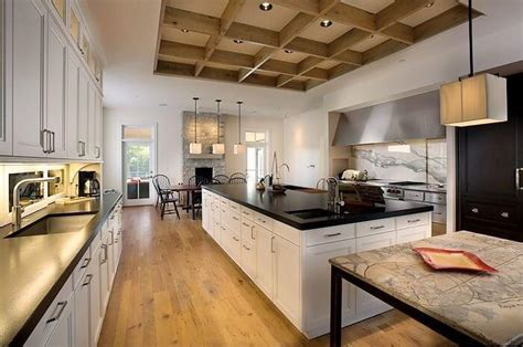 galley style kitchen with island tips to apply galley kitchen with island homes