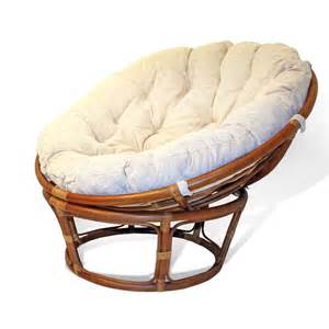 high quality class a handmade rattan wicker papasan chair w cushion ebay