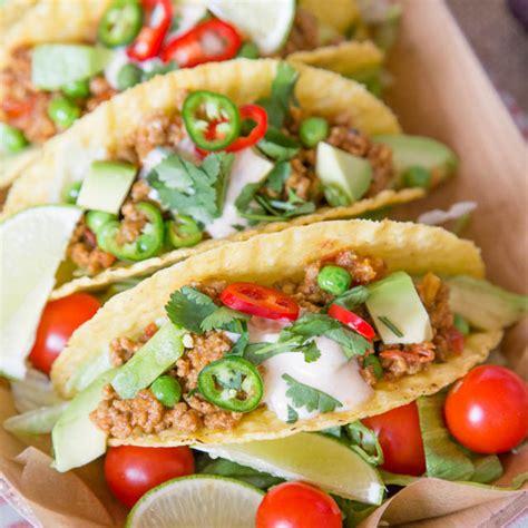 recipe easy  tasty lamb keema tacos fuss  flavours