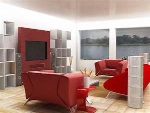 Interesting modern living room interior design color for Interior design bedroom wall color schemes video