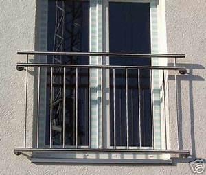 franzosischer balkon aus edelstahl gelander brustung ebay With französischer balkon mit sonnenschirm selbst neu bespannen