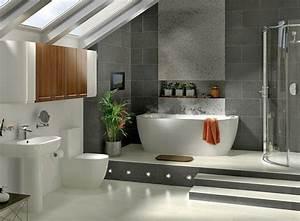 amenagement salle de bain moderne With photo salle de bain moderne
