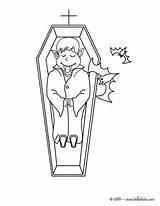 Vampire Halloween Cercueil Coloriage Kawaii Colorear Ataud Coloring Vampiro Sang Colorier Imprimer Desenhos Vampires Dessin Coffin Sleeping Colorir Casket Wampiry sketch template