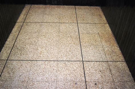 Clean Terrazzo Floor Stains by Stained Terrazzo Tiles Cleaned At A Wigan Fish And Chip
