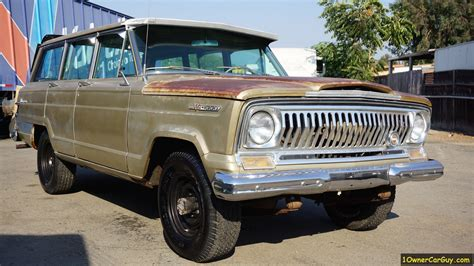classic jeep wagoneer for sale jeep sj patina paint project 1967 wagoneer 4x4 classic suv