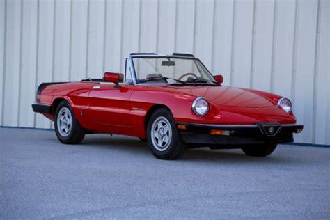 Alfa Romeo United States by 1983 Alfa Romeo Veloce Spider For Sale In Ames Iowa