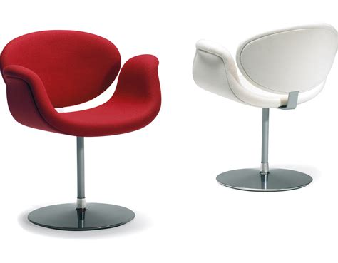 chaise tulip tulip chair with disc base hivemodern com
