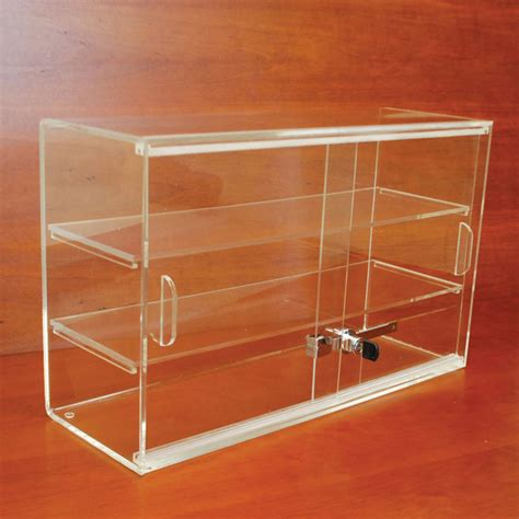Countertop Display Cases - acrylic countertop display retail showcases by