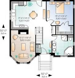 Harmonious Compact Floor Plans by Small House Plan With Options 21265dr 1st Floor Master