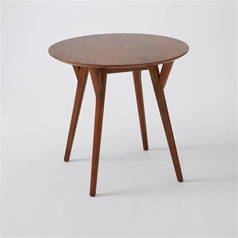 west elm mid century table mid century bistro table west elm