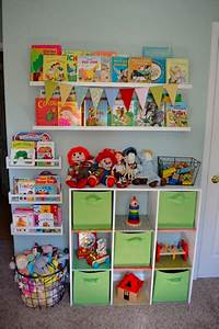 toy organization ideas Small Space Organization: A Toy Wall | From Faye
