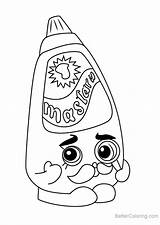 Mustard Shopkins Coloring Pages Cornell Drawing Draw Printable Step Tutorials Getdrawings Learn sketch template