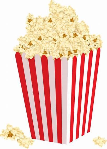 Popcorn Clipart Box Pocorn Clipartly Clip Vector