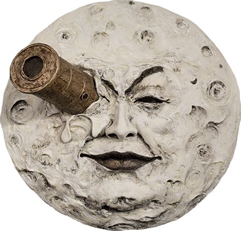 george melies man on the moon le voyage dans la lune the moon of georges melies statue