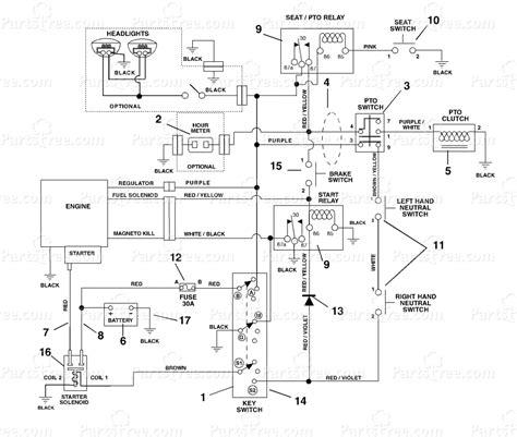 Gravely Walk Wiring Diagram by Gravely 915025 Gravely Zt 2048 48 Zero Turn Mower 20hp