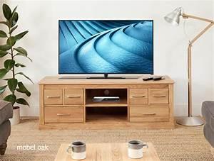 Widescreen Oak TV Cabinet Solid Oak Iwoodbuyitbiz