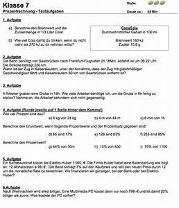 Prozentwert Berechnen Arbeitsblatt : prozentrechnung textaufgaben prozentrechnung bungen mit l sungen ~ Themetempest.com Abrechnung