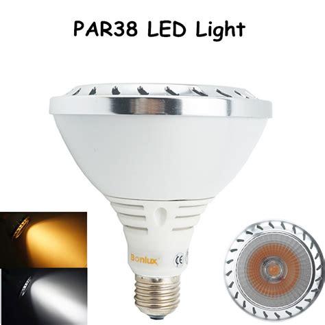 aluminum par38 led spotlight bulb 20w 1800lm cree cob leds