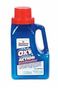 thompson s th 087731 42 waterseal oxy foaming exterior multi surface cleaner 2 lb