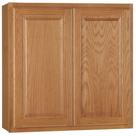 Home Depot Oak Bathroom Cabinet by Hton Bay Hton Assembled 30x30x12 In Wall Kitchen