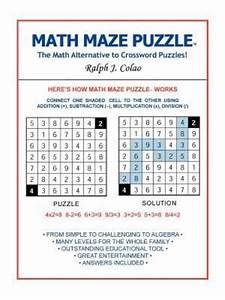 Math Maze Puzzle: The Math Alternative to Crossword Puzzle ...