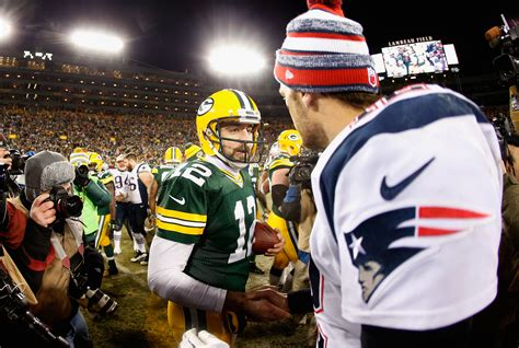 Aaron Rodgers Agrees That Tom Brady Is The Goat Qb Total