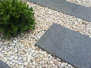Gartenwege Aus Kies : gartengestaltung mit kies ideen mit naturstein und gr sern ~ Sanjose-hotels-ca.com Haus und Dekorationen