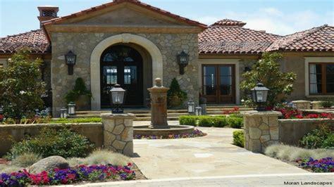 Single Story Mediterranean House Plans Courtyard Hacienda