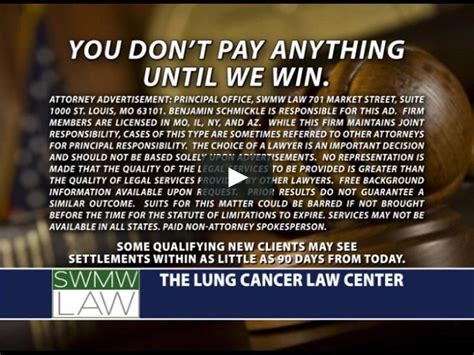 lung cancer law center commercial asbestos meaning