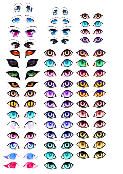 cat s eye anime vs manga my skills guide manga eyes for amigurumi practice