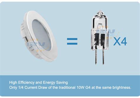 12v 70mm led recessed ceiling light rv kitchen