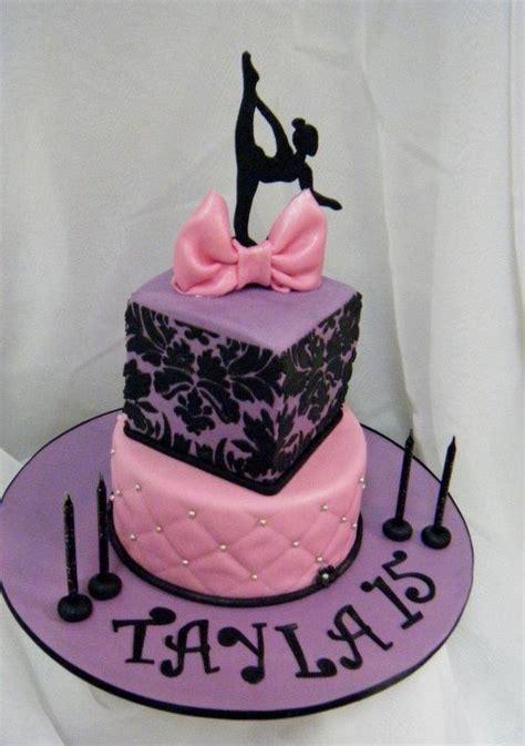 dance cakes ideas  pinterest