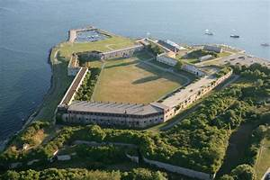 Explore The High Walls And Dark Tunnels Of Fort Adams In