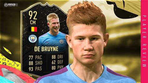 FIFA 20 IF De Bruyne Review - 92 IF De Bruyne Player ...