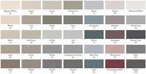 Farbpalette Für Wandfarben : painting the past shop farbt ne bersicht ~ Sanjose-hotels-ca.com Haus und Dekorationen