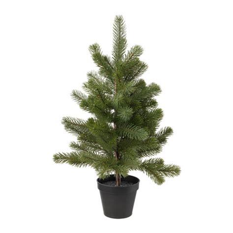 fejka artificial potted plant christmas tree 12 cm ikea