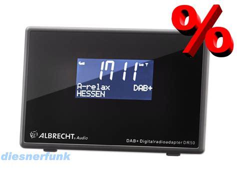 albrecht dr 50 digitalradio adapter f anschluss an