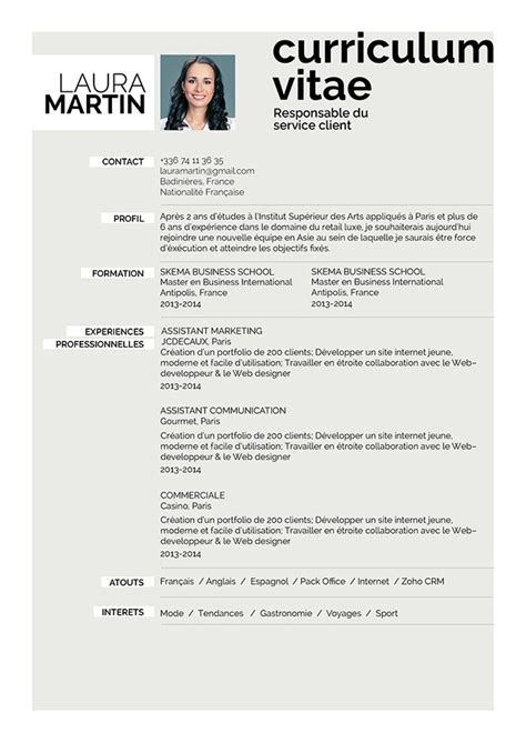 Le Cv by Comment Faire Un Cv Curriculum Vitae