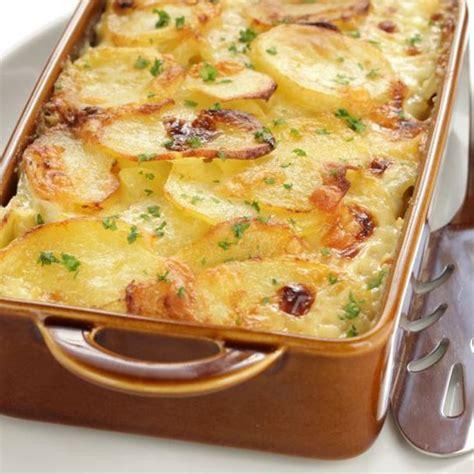 recette cuisine pomme de terre recette gratin de pommes de terre aux poireaux facile