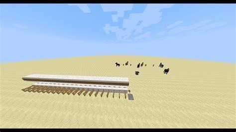 minecraft horse speed test