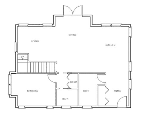 how to draw a kitchen floor plan como desenhar plantas de casas gr 225 tis 2 quartos 9394