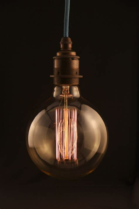edison light bulb empirical style vintage interiors design