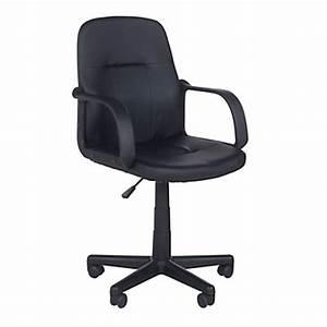 Bureau But Noir : chaise et fauteuil de bureau pas cher ~ Teatrodelosmanantiales.com Idées de Décoration