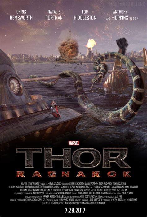 thor ragnarok fan event marvel 39 s thor ragnarok fan made poster by